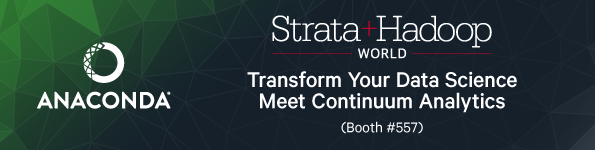 Harness the Power of Your Data, See Anaconda In Action at Strata NYC