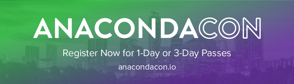 Feel the Data Science Love at AnacondaCON 2018