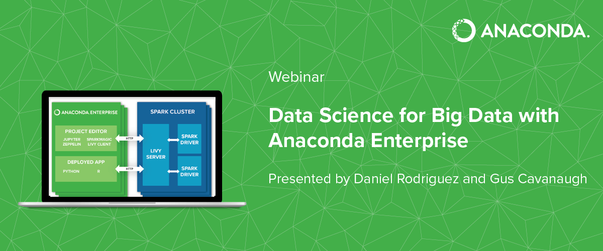 [Webinar] Data Science for Big Data with Anaconda Enterprise, Oct 19
